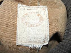 Vintage Wahmaker Medium Western Canvas Trail Riding Duster Coat Range Wear Homme