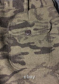 Vtg Columbia Laine Gallatin Range Cargo Pantalon De Chasse Camo 40/28 Phg En Extérieur 90s