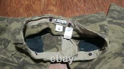 Vtg Columbia Mens Sz 38x36 Gallatin Range Wool Camo Cargo Pants Hm8040