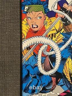 X-men 4 1991 1ère Apparition D'application Omega Red Key Comic Book (nm- Gamme)